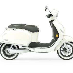 1954 RI Kumpan electric scooter Magnolia white 65 km / h