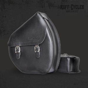 Ruffian Leather bag Black